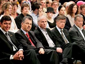 Die Ehrengäste (Bild: Johannes Puch)