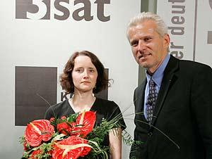 Julia Schoch, Manfred Erian (Bild: Johannes Puch)